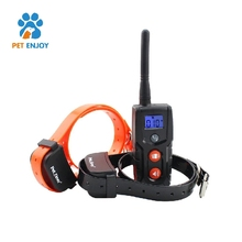 New Product Outdoor Rechargeable and Rainproof remote pet shock collar with shock for dog