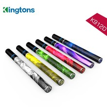 Wholesale price free sample stainless steel tube K912D wholesale hookah tank disposable e cig