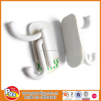 20pce lot High-Quality Plug hook Sucker Hanger Strong Plastic Sticky Self Adhesive
