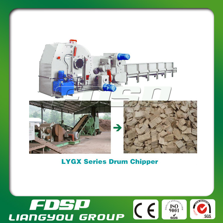 CE approved firewood wood chips log making machine