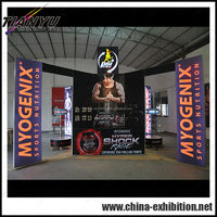 china indoor outdoor exhibition booth contractor