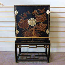 Luxury chinese antique altar table vanity cabinet console tables for sale (AMF734)
