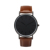 New arrival China watch factory wholesale PU leather strap alloy watch