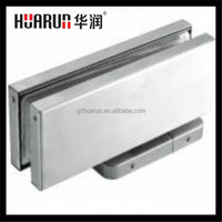 Glass door bottom clamp,Hydraulic floor spring hinges