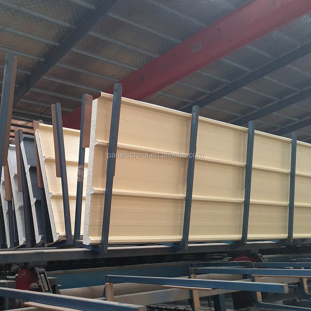 Polyurethane PU PUR PIR Sandwich insulation Panels for Roof Wall Cold room