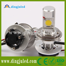 top product 2014 high lumen 12v cree led car made in dingju high power h4 led headlight