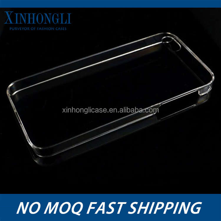 Direct factory manufacture layer clear plastic phone case for Iphone 5S