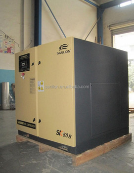45KW Industrial Electric Variable Frequency Screw type Air Compressor with CE