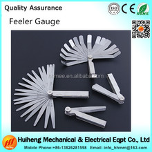Thickness feeler gauges angle gap measuring tool mechanical welding measuring tool