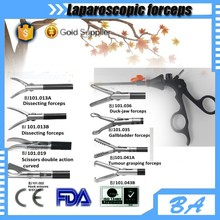 Different types of laparoscope surgical forceps/surgical instrument parts of forceps