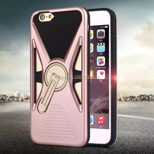 360 Degree Rotatable Kickstand PC+TPU Case for iPhone 6S/6S plus Case