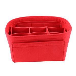 beautiful colorful felt cosmetic bag travel case wholesale