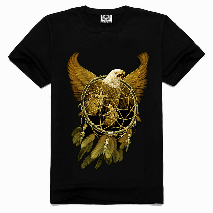 2016 Fashion new trend t-shirts,3d eagle t-shirt