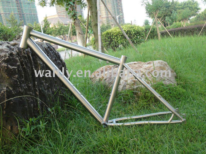 "26""MTB titanium alloy bicycle frame"