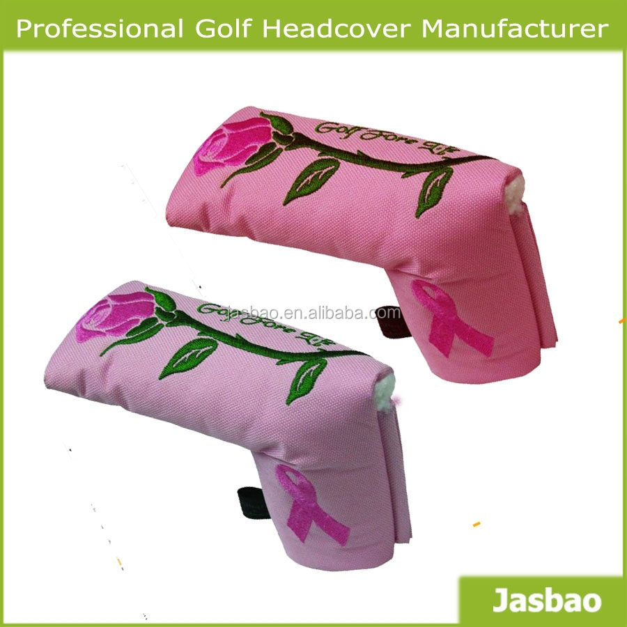 Fishion Golf Blade Putter Cover With Elegant Pattern