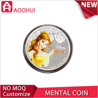New design printing antique pure gold coin