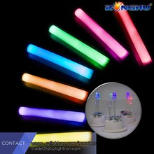 logo branded colorful ultra bright led foam light tube for party events