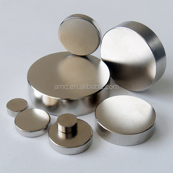 N52 High Quality Disc Neodymium Magnets/Rare Earth Neo Ndfeb Permanent Magnets Disc