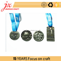 Costom Logo Metal Medal Plating Silver