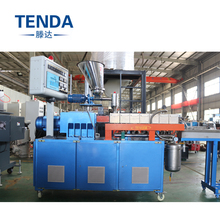 Co-rotating Twin Screw Plastic Machine Extruder