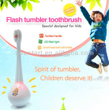 Flash Kids Toothbrush With four Color Light Funny Shine Toothbrush For Baby