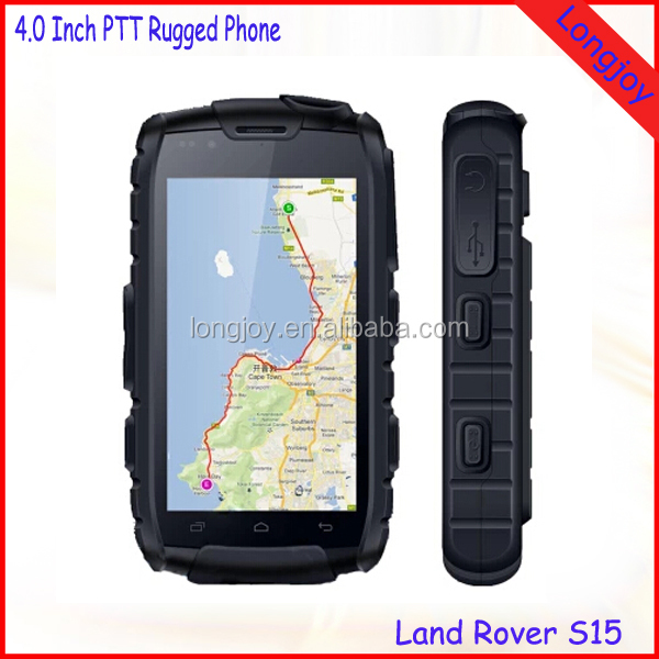 2016 Best Selling Rugged phone Land Rover 4.0 Inch Quad Core Android Dual SIM 3G Smartphone Support NFC Walkie Talkie