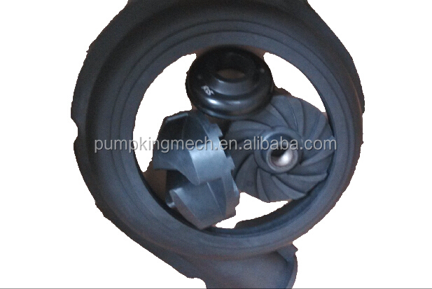 Rubber wetted parts to suit AH type slurry pump