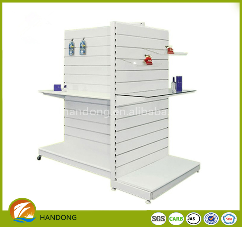 freestanding slat wall system,slat wall shoe display for shoe store