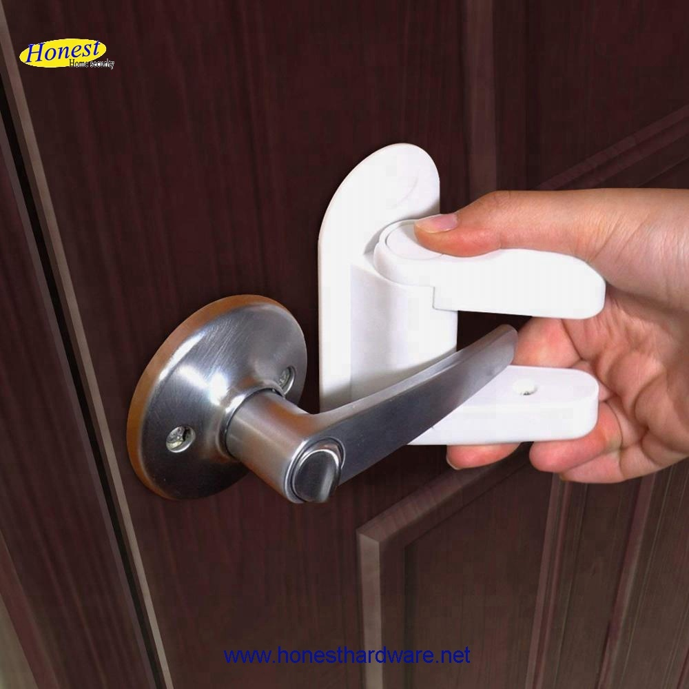 High Quality 3M Adhesive Handle Proof Baby Door Lever Lock