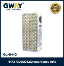 22W rechargeable led emergency light 6V4Ah battery