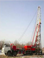 No-Guyline oil well Workover Rig