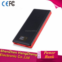 Dual USB Charging 20000mAh Portable Mobile Power Bank Battery Charger with Built-in Li-Polymer Battery