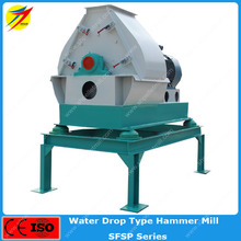 wheat bran/rice husk hammer mill/grinding machine for sheep farming