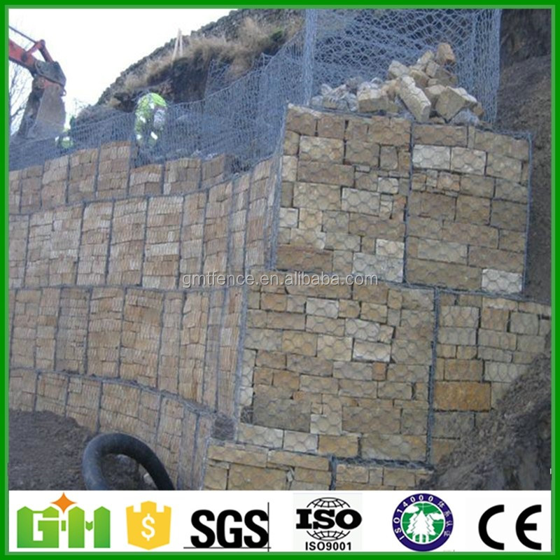 Hot sales factory China Supplier pvc coated gabion box