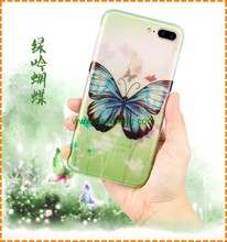 OEM Mobile Phone Case IMD Colorful Printing TPU Back Cover case for iphone 7 7 plus