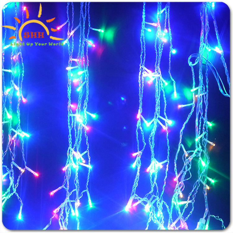 Led Icicle String Lights : 2016 Led Icicle Christmas Decorative Lights String Lights For Holiday Festival Decoration - Buy ...