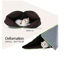 Funny deformable closed type cat house for cat and small dogs