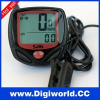 Multifunction Waterproof LCD Display Bicycle Computer Wheel Odometer Bicycle Speedometer