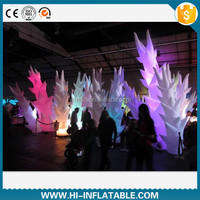 2015 hot selling stage, party decoration inflatable lucky bamboo No. tba002 with led light inside for sale
