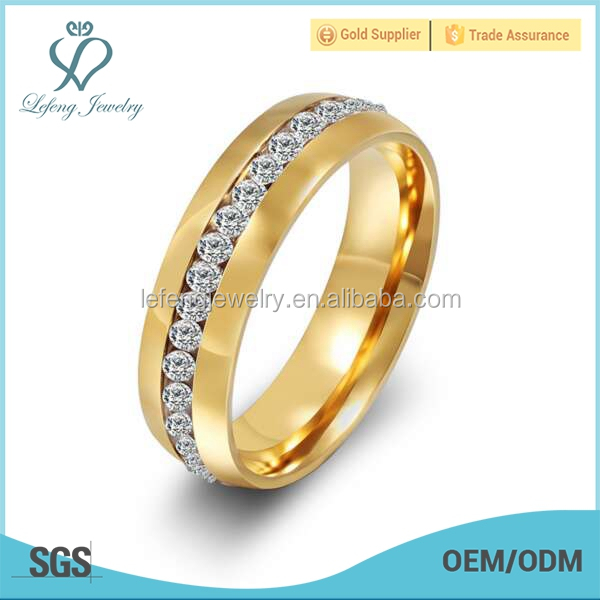 18K gold plate finger ring rings design for women with price, engrave name ring