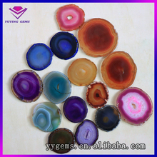 Agate slice,natural agate stone slices wholesale