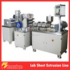 230mm Sheet Width Precise Small Sheet Extrusion Line