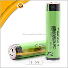 Pcb 3400mah rechargeable lithium li ion18650 batteries for panasonic 18650 batteries with pcb