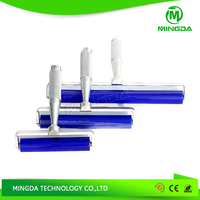 Chinese factory direct sale Blue Clean PCB SMT sticky roller with aluminum alloy handle