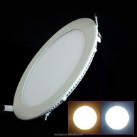 LED Panel Light 18w 2835smd Cold White Round 8'' 225mm Cut Out 200mm AC 85-265V Slim Downlight with Driver High Lumens