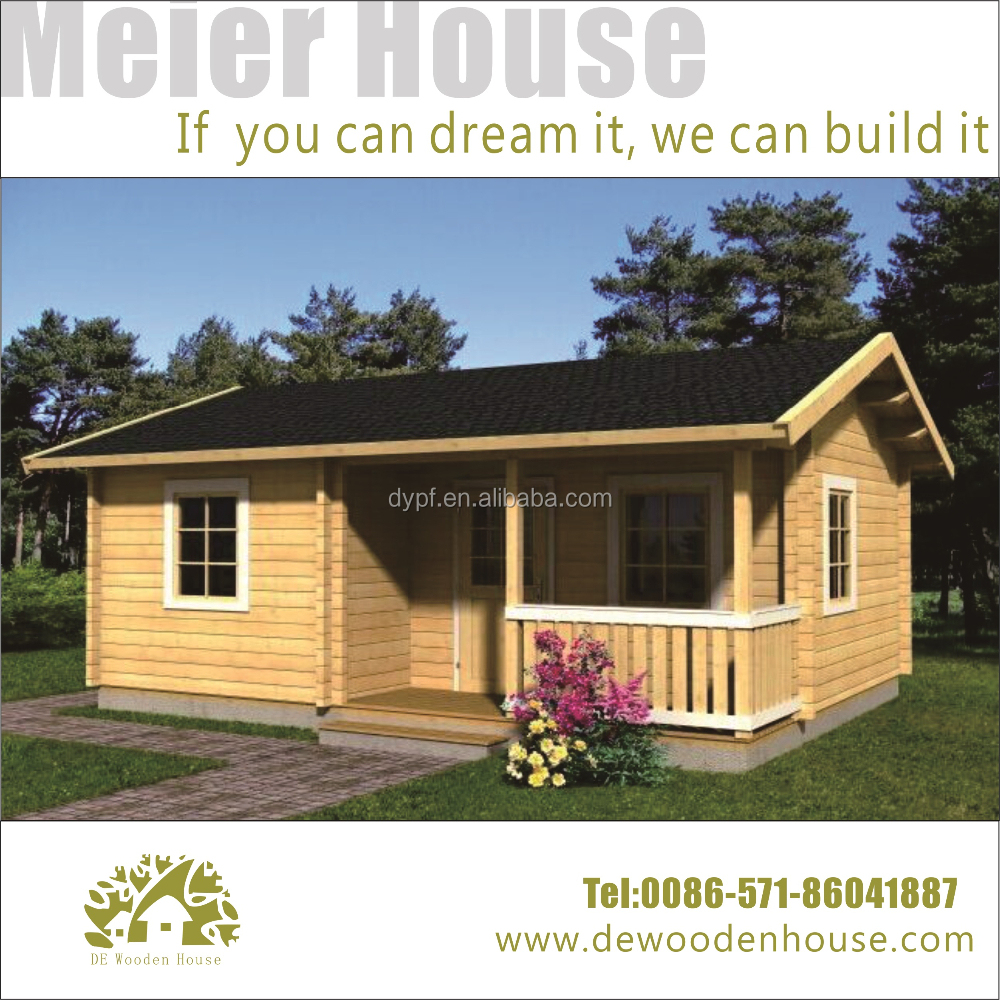 prefabricated small wooden house DY-C-119
