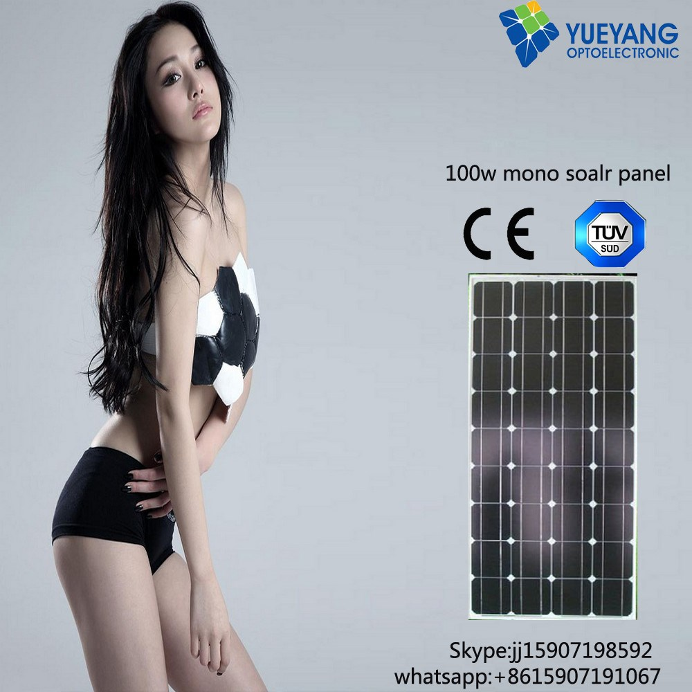 100w solar mono panel price Pakistan