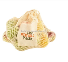 Simple Ecology Organic Cotton Mesh Produce Bag for food