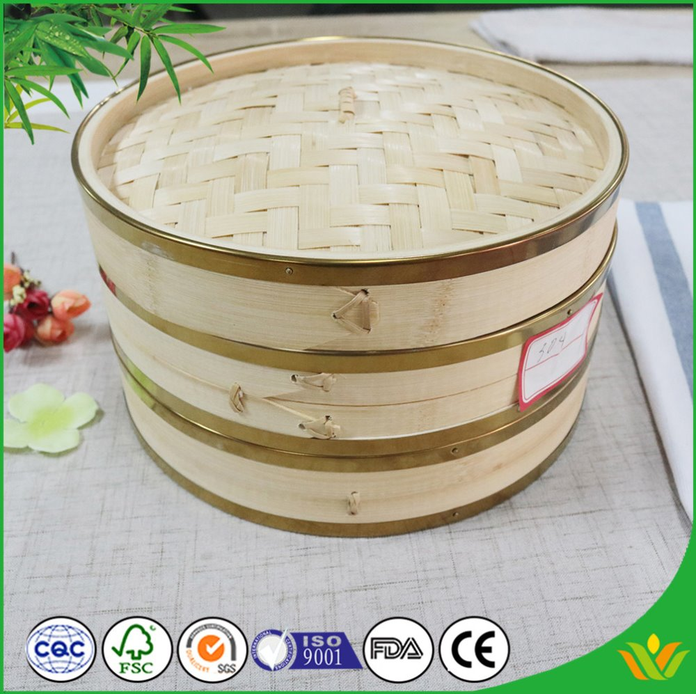 Commercial Bamboo Steamer Set Disposable Bamboo Steamers