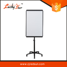 portable smart interactive whiteboard flip board easel stand with magnetic whiteboard roll